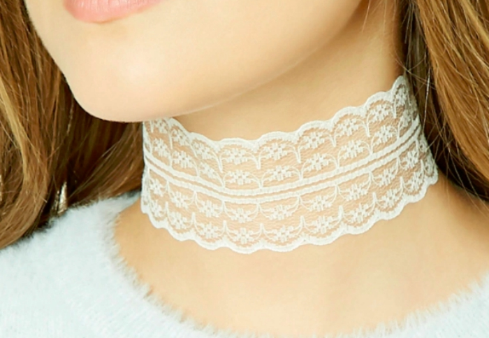 Lace choker from Forever 21