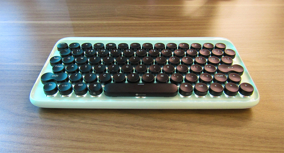 Lofree keyboard bluetooth lights on