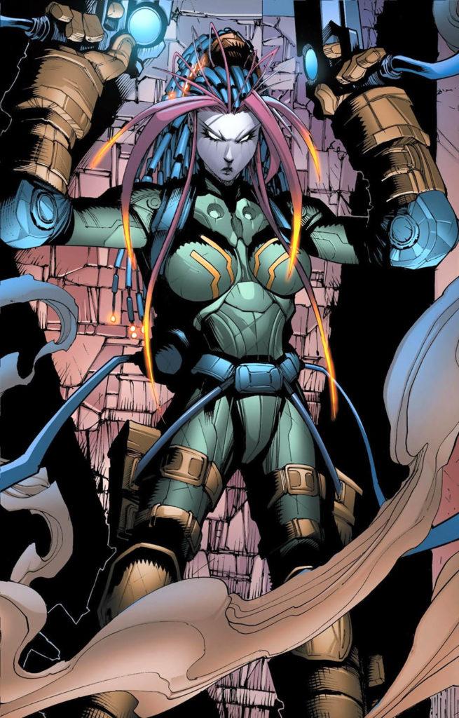 Marvel superhero Nicholette Gold aka Nikki