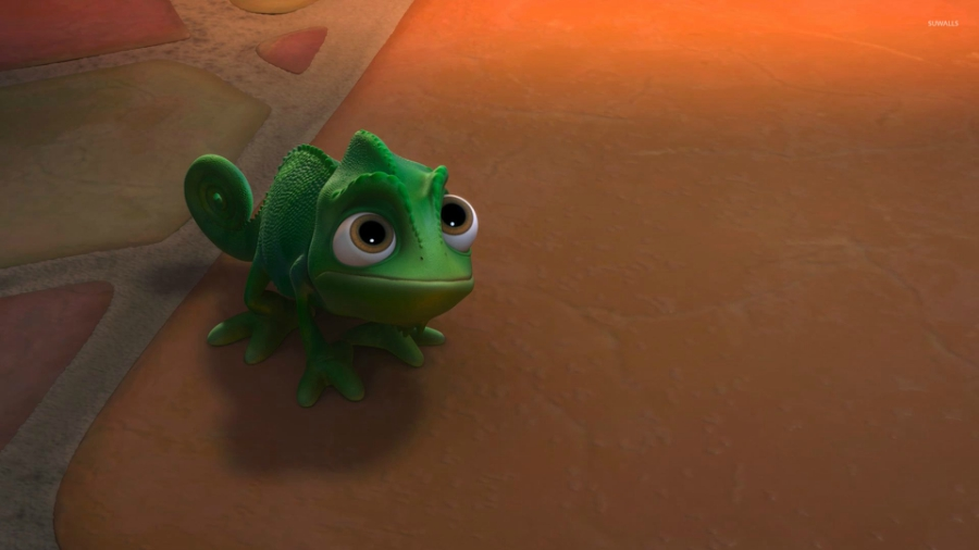 Pascal from Disney's 'Tangled'