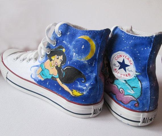 Princess Jasmine Converse