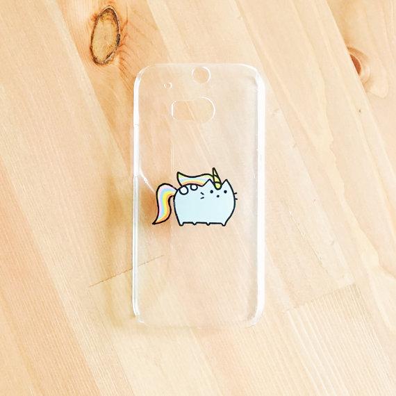 Unicorn pusheen phone case