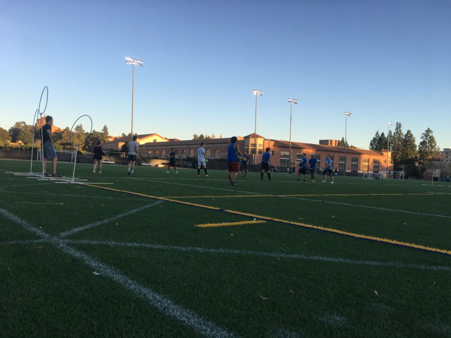 Quidditch practice at UCLA