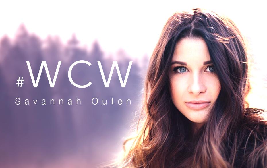 Savannah Outen #WCW art