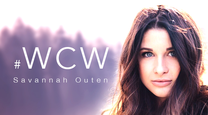 Savannah Outen #WCW art