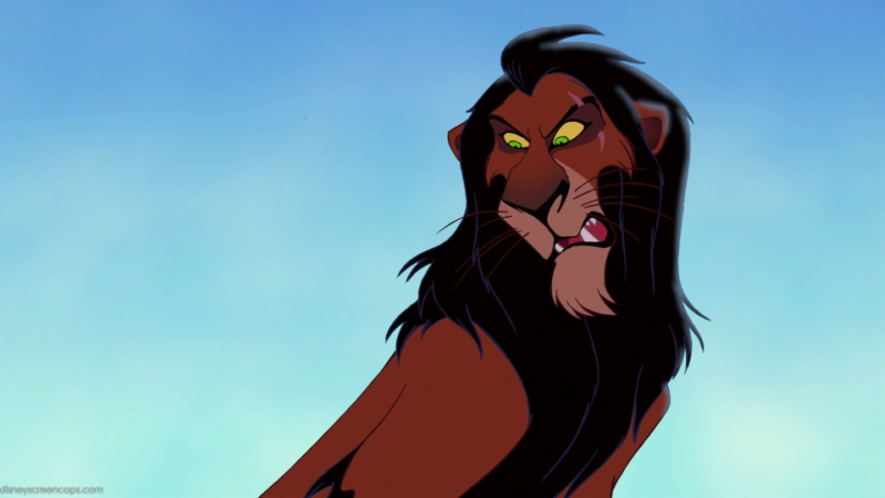 Scar from Disney's The Lion King