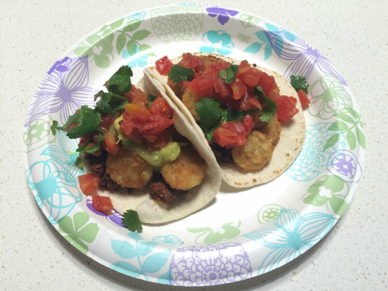 Tater Tat-Cho Tacos from the Taco Cleanse book