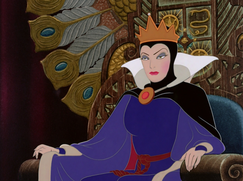 The Evil Queen from Disney's Snow White and the Seven Dwarfs