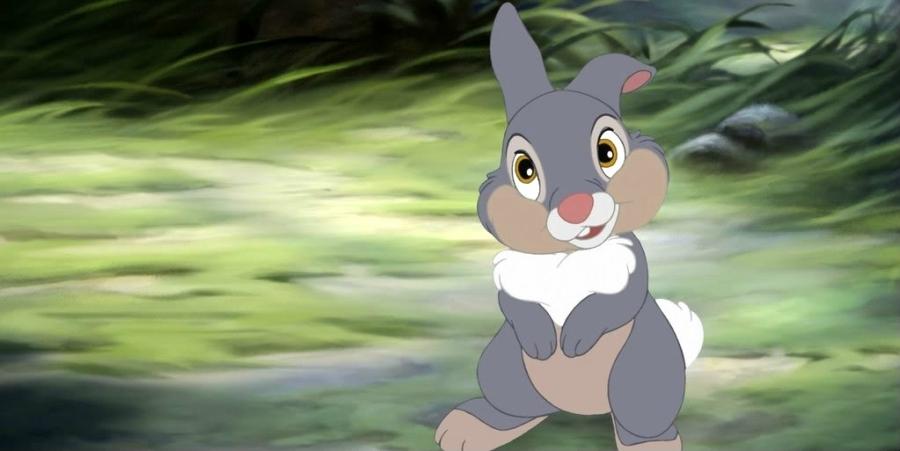 Thumper from Disney's 'Bambi'