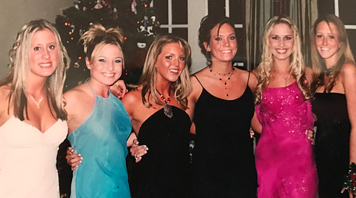 Girls Prom Picture Junior Year Spray Tan