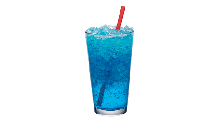 Ocean Water from Sonic Drive-In