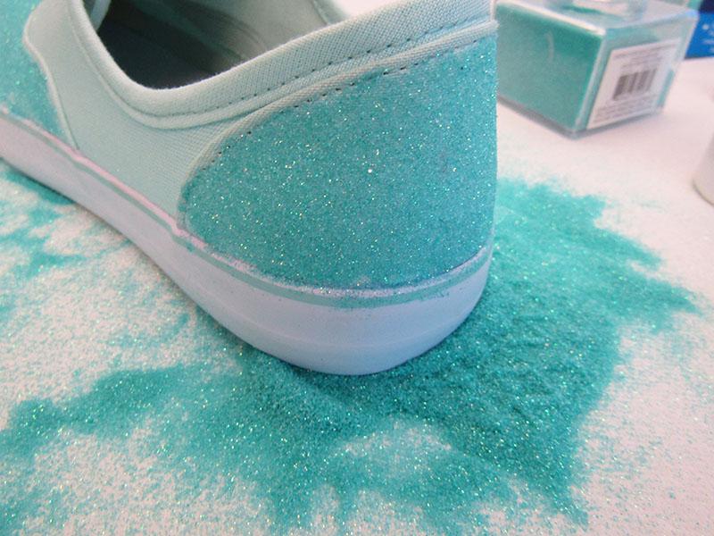 Diy Tutorial For Vans Inspired Glitter Shoes