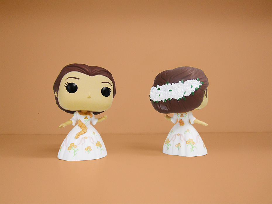 Beauty and the Beast Funko celebration dress belle pop vinyl