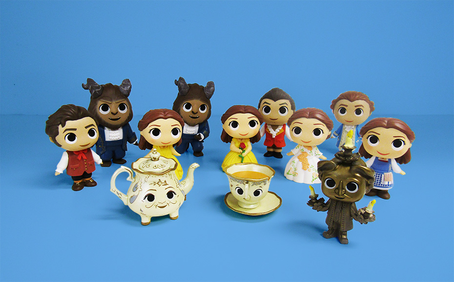 Beauty and the Beast all mystery minis vinyl figures