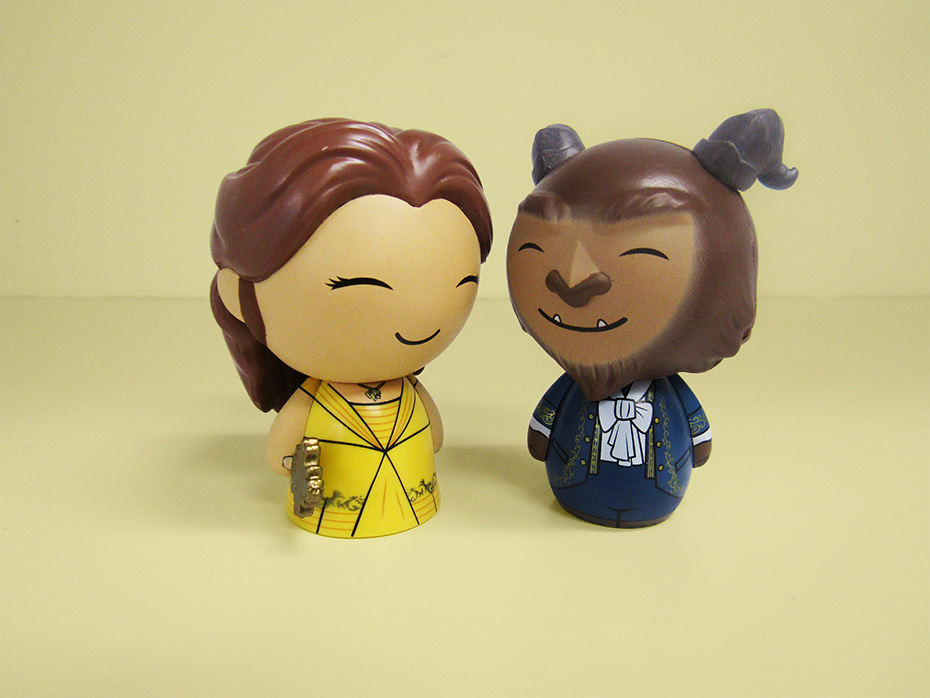 Beauty and the Beast Funko belle and the best dorbz