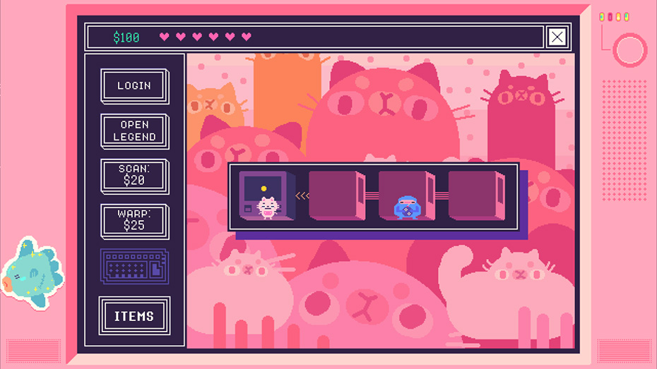 Beglitched app cat world