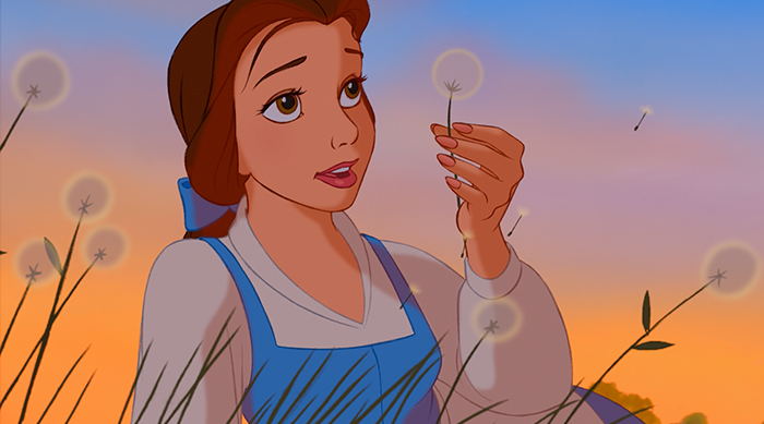 Belle from 'Beauty and the Beast'