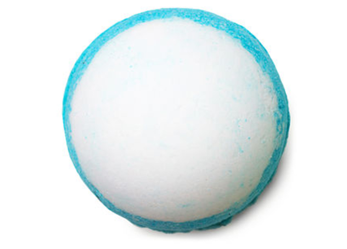 Lush's Big Blue bath bomb