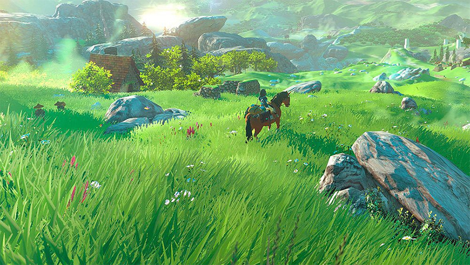 The Legend of Zelda Breath of the Wild screenshot