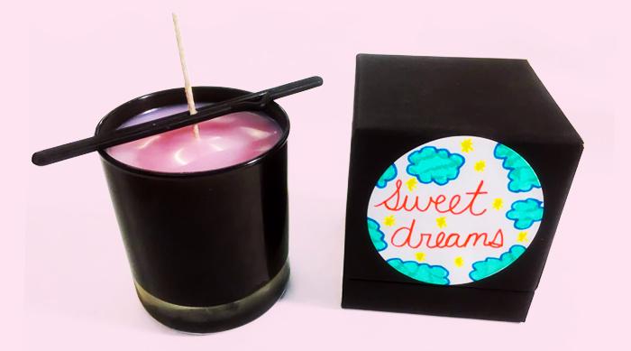 Brittney's handmade candle