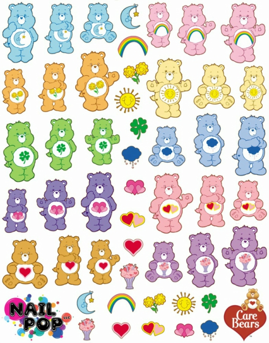 Most Adorable Nail Art Decals