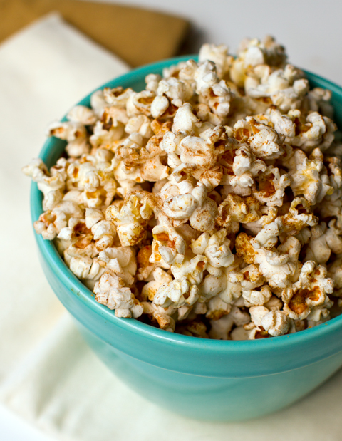 Cinnamon chili popcorn