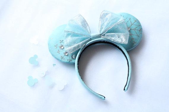 Frozen-inspired Mini Mouse ears
