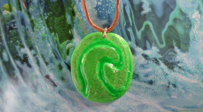 Moana Heart of Te Fiti Necklace