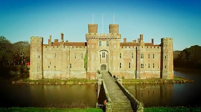 Herstmonceux Castle grounds