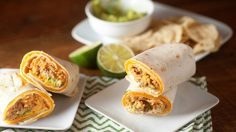 Homemade Taco Bell Quesaritos on a plate