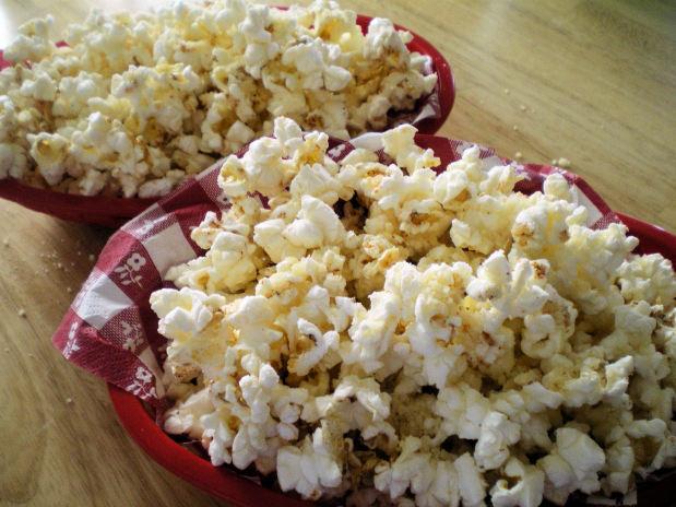 Honey parmesan popcorn