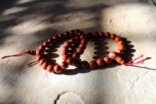 Jasper power bead bracelets