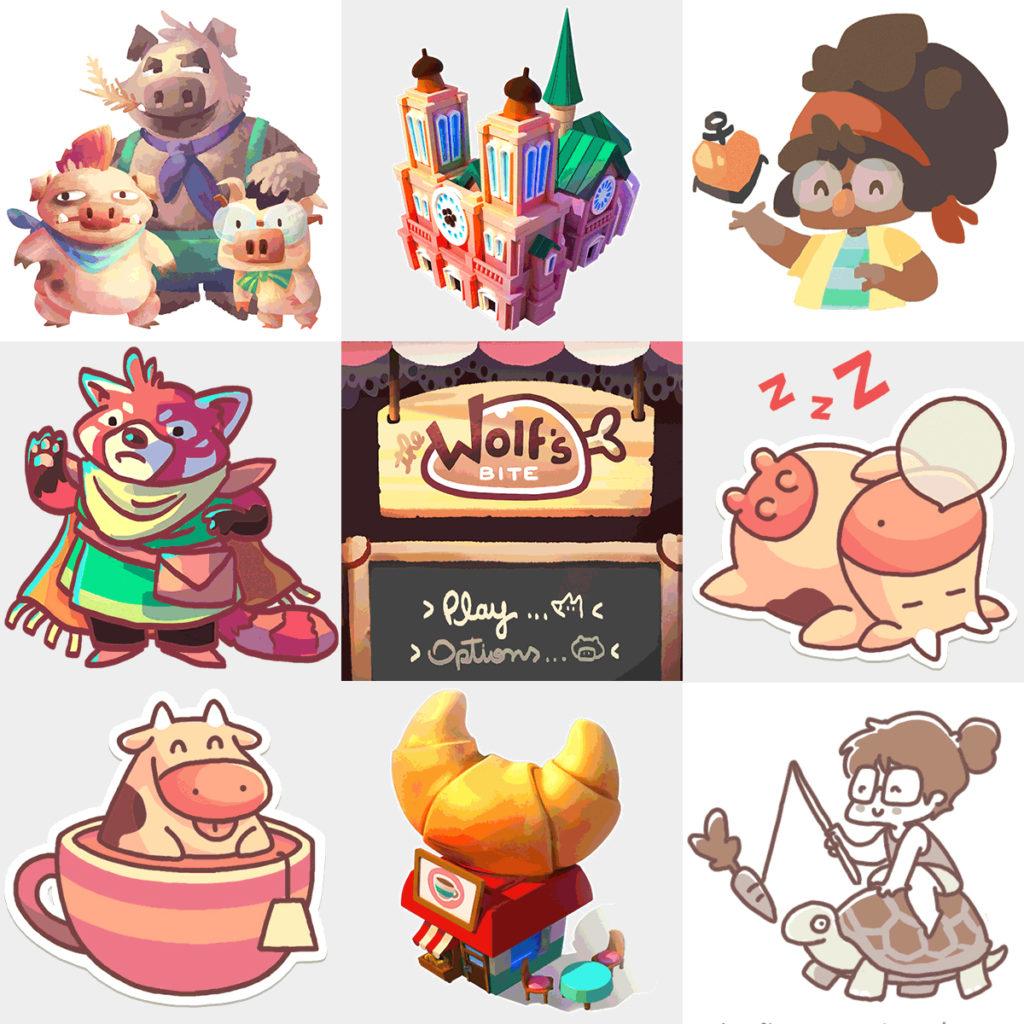 Karen Teixeira Bitmoo illustrations