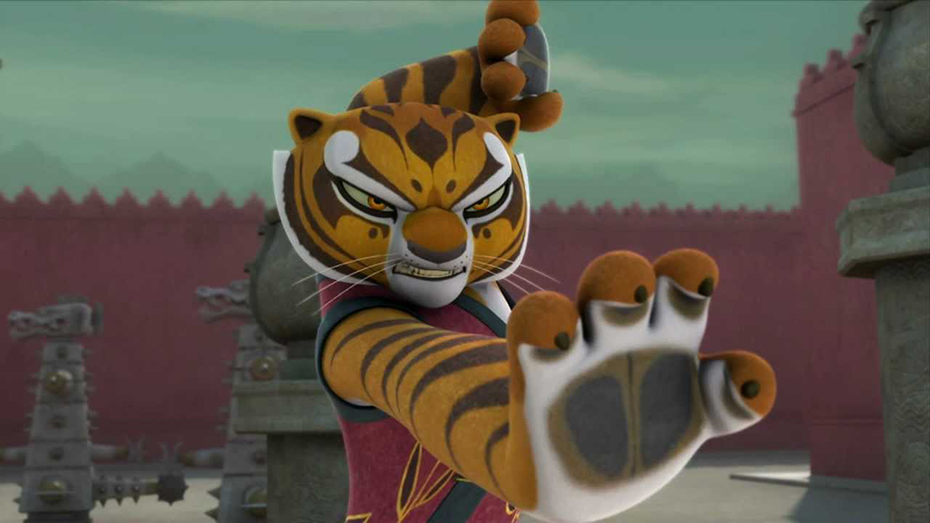 Tigress Kung Fu Panda Masters of Awesomeness