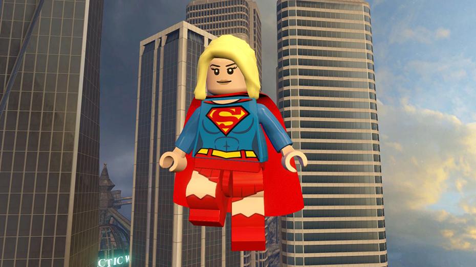 Lego Dimensions Supergirl