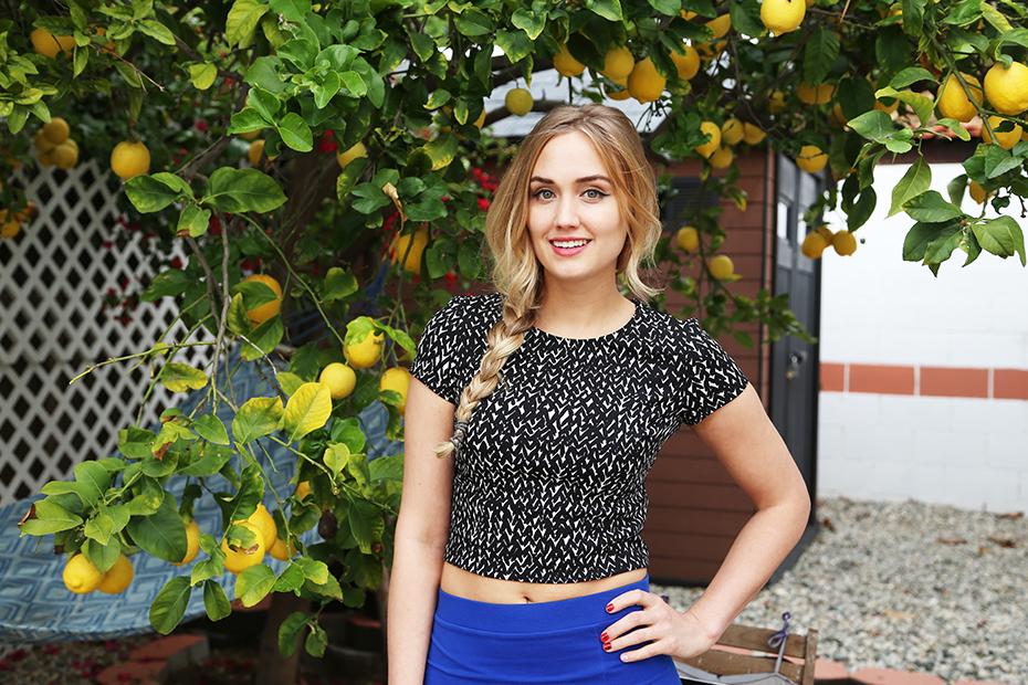 IGN host Naomi Kyle posing