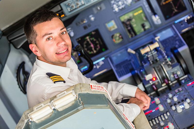 Plane's captain