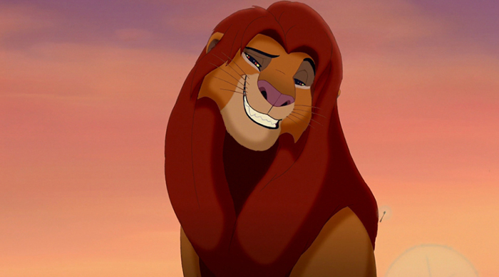 Simba from 'The Lion King'
