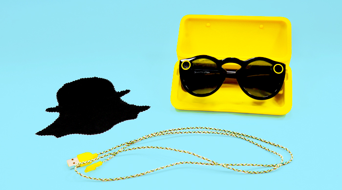 Snapchat Spectacles and accessories