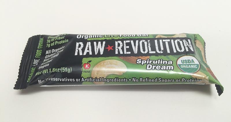Raw Revolution Spirulina Dream bar