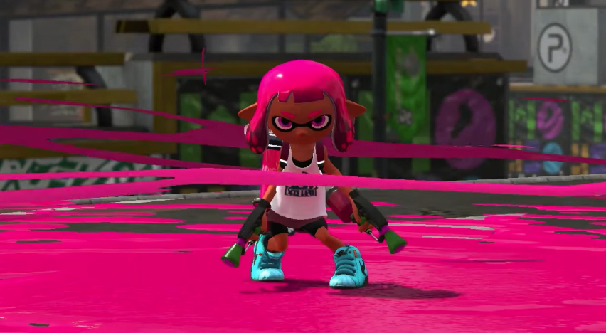 splatoon 2 for nintendo switch is superior for local co op