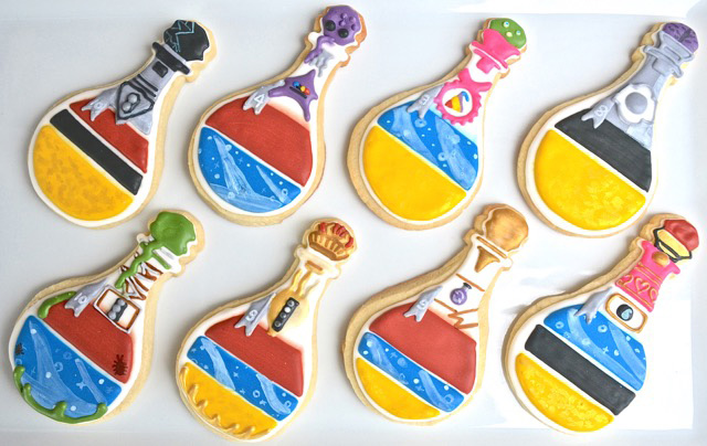 Sugar High Score Potion Explosion Cookies