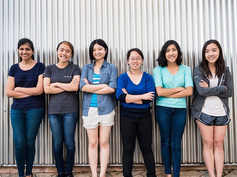 Team Tactile members