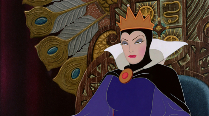 The Evil Queen from Disney's 'Snow White'
