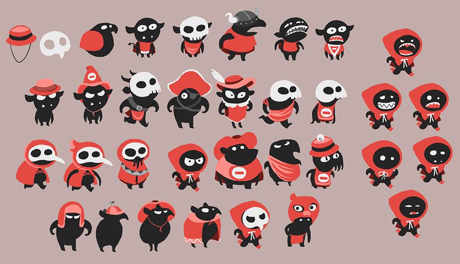 Karen Teixeira Bitmoo illustrations Twelve a Dozen