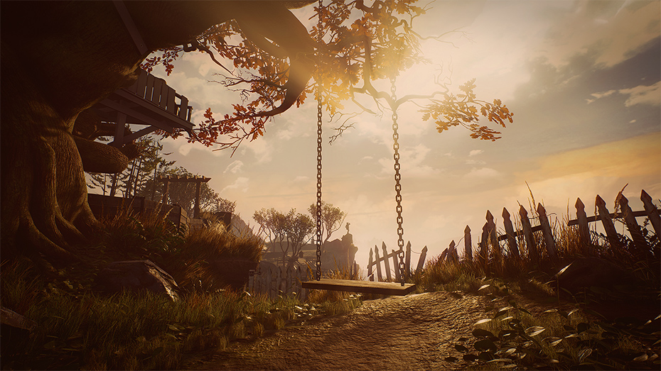 What Remains of Edith Finch swingset
