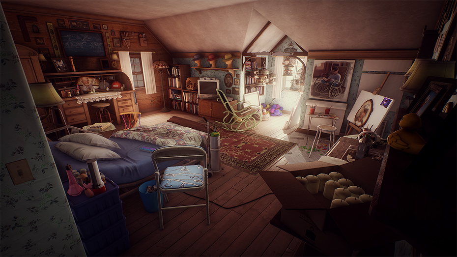 What Remains of Edith Finch Theresa's room