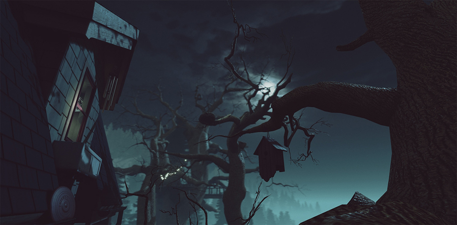 What Remains of Edith Finch spooky trees