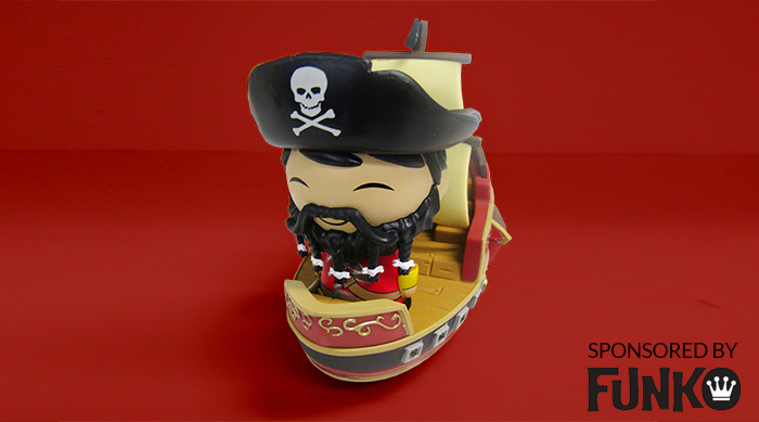 Wicked Wench pirate captain funko dorbz ride