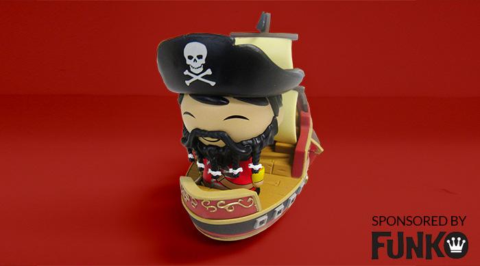 Wicked Wench pirate captain funko dorbz ride